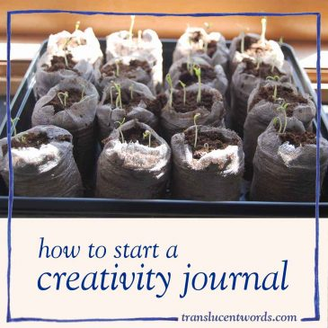 How To Start a Creativity Journal