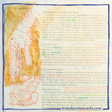 Hands Full of Words: Merging Word and Image in Your Journaling