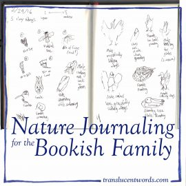 Nature Journaling for the Bookish Family